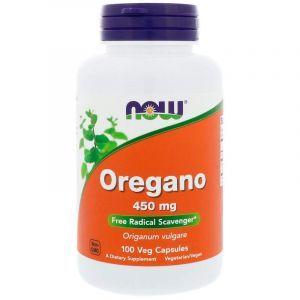 Орегано, Oregano, Now Foods, 450 мг, 100 капсул (Default)