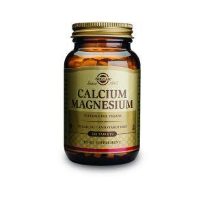 Кальций и магний, Calcium Magnesium 333/133 mg, Solgar, 100 таблеток (Default)