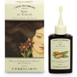 """Красящий гель для волос """"Тёмно-каштановый"""", Gel Al Cacao, L'Erbolario, 70 мл"""
