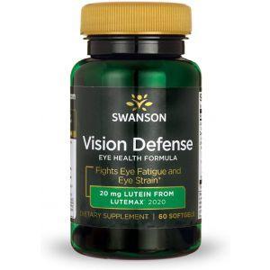 Формула для зрения, Ultra Vision Defense, Swanson, 60 гелевых капсул