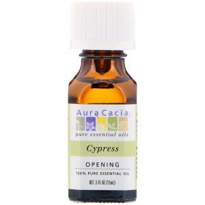 Эфирное масло кипариса (Essential Oil Cypress), Aura Cacia, 15 мл (Default)