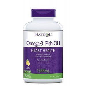 Рыбий жир в капсулах, Omega-3 Fish Oil, Natrol, 150 кап