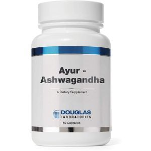 Ашвагандха, Ayur-Ashwaganda , Douglas Laboratories, 60 капсул