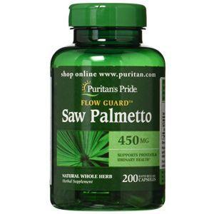 Puritan's Pride, Saw Palmetto 450 mg, 200