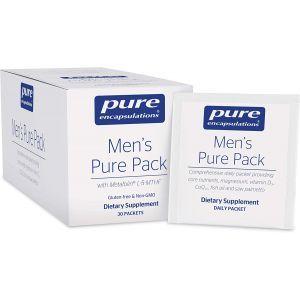 Мультивитаминно-минеральный комплекс с магнием и витамином D3, Men's Pure Pack, Pure Encapsulations, 30 пакетик