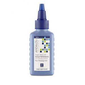 Интенсивное лечение истонченных волос, Thinning Hair Treatment, Andalou Naturals, 62 мл