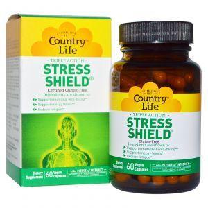 5-НТР стресс щит, Stress Shield, Country Life, 60 кап. (Default)