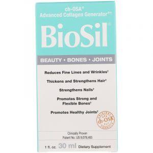 Активатор коллагена, BioSil, Natural Factors, 30 мл (Default)
