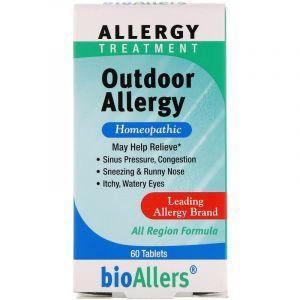 Лечение аллергии, Allergy Treatment, bioAllers, NatraBio, 60 таблеток