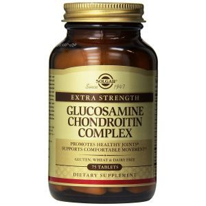 Глюкозамин Хондроитин комплекс, Glucosamine Chondroitin, Solgar, 75 таблеток (Default)
