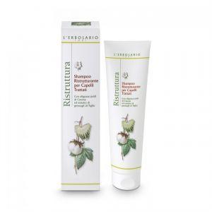 Шампунь восстанавливающий,  Shampoo Ristrutturante per Capelli, L'Erbolario, для окрашенных волос, 150 мл
