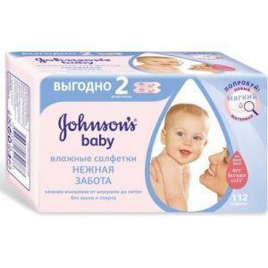 Детские влажные салфетки Johnson's Baby, Найс-Пак Дойчленд ГМБХ, 112 шт