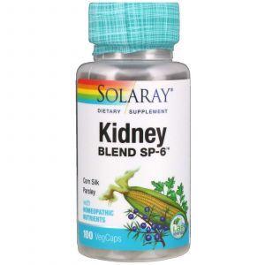 Смесь для почек, Kidney Blend SP-6, Solaray, 100 капсул (Default)
