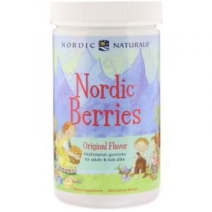 Витамины для детей, Multivitamin Gummies, Nordic Naturals, 200 конфет (Default)