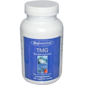 Триметилглицин, Allergy Research Group, 100 кап.