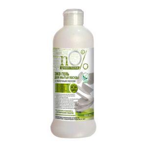 Эко-гель для мытья посуды с яблочным уксусом, nO% Green Home, 500 мл