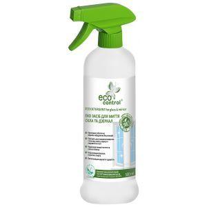 Средство для мытья стекол и зеркал, Eco Control, 500 мл