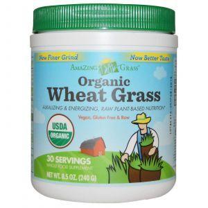Пророщенная пшеница, Amazing Grass, 240 гр