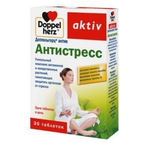 Антистресс, Доппельгерц актив, 30 таблеток