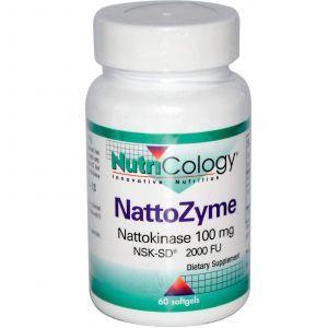 Наттокиназа, Nutricology, 100 мг, 60 капсул