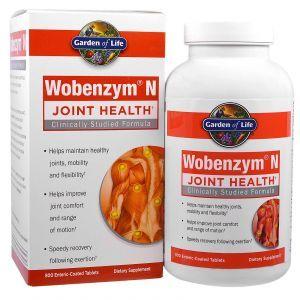 Здоровье суставов, Joint Health, Wobenzym, 800 таб.