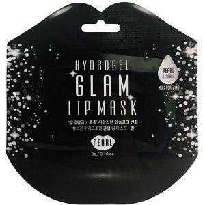 Гидрогелевые патчи для губ с экстрактом жемчуга, Lip Mask, BeauuGreen, 1 шт.
