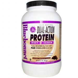 Сывороточный протеин с козеином, Bluebonnet Nutrition, 952 г