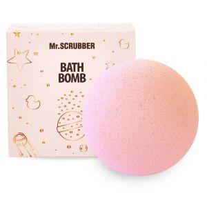 Бомбочка для ванн Клубника-сливки, Bath Bombs, Mr. Scrubber, в подарочной коробке, 185 г
