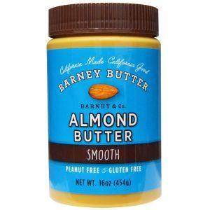 Миндальное масло, Almond Butter, Barney Butter, 454 г.