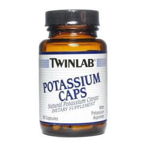 Калий, Potassium Caps, Twinlab, 90 капсул