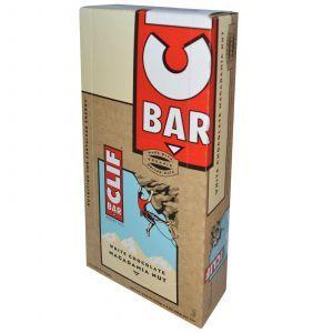 Энергетические батончики с белым шоколадом, орех макадамия, Energy Bar, Clif Bar, 12 бат.