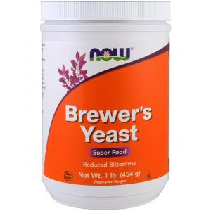 Пивные дрожжи, Brewer's Yeast, Now Foods, 454