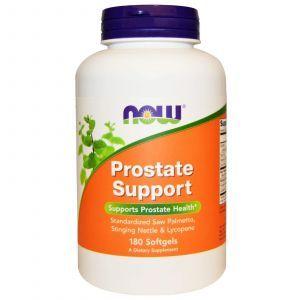 Поддержка простаты, Prostate Support, Now Foods, 180 кап