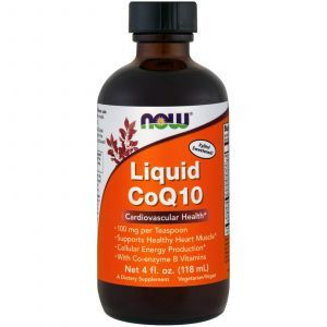 Коэнзим Q10 (Liquid CoQ10), Now Foods, жидкий, 118 м