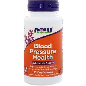 Нормализация давления, Blood Pressure, Now Foods, 90 кап