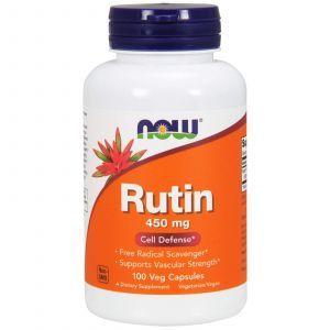 Рутин, Rutin, Now Foods, 450 мг, 100 капсу
