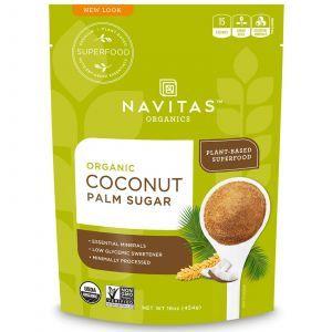 Кокосовый сахар, Coconut Sugar, Navitas Naturals, органик, 454