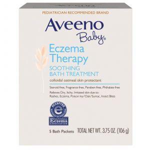 Смесь для ванны, против дерматита, Soothing Bath, Aveeno, 5 процедур, 106
