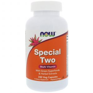 Мультивитамины, Multi Vitamin, Now Foods, 240 капсу