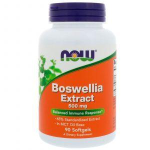 Босвелия (Boswellia), Now Foods, экстракт, 500 мг, 90 капс
