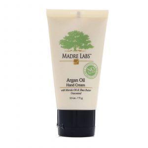Крем для рук, Hand Cream, Madre Labs, с аргановым маслом, (71 г