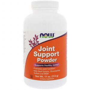 Для укрепления суставов, Joint Support, Now Foods, порошок, 312 г