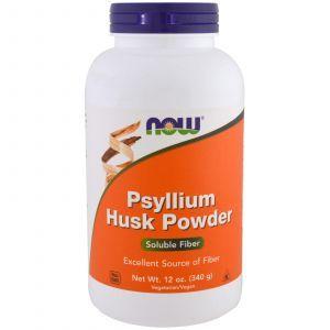 Подорожник (Psyllium Husk), Now Foods, 340 г