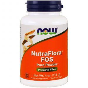 Фруктоолигосахариды, Nutra Flora FOS, Now Foods, 113