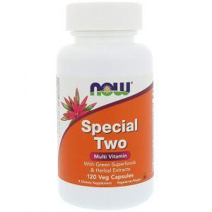Мультивитамины, Special Two, Now Foods, 120 капсу