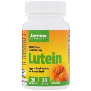 Лютеин, Lutein, Jarrow Formulas, 20 мг, 30 капс