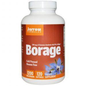 Масло огуречника (Borage), Jarrow Formulas, 1200 мг, 120 кап