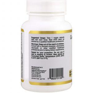Пищеварительные ферменты, Digestive Enzymes, California Gold Nutrition, 90 капсул
