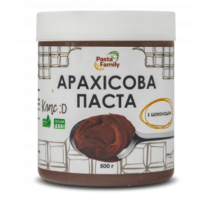 Арахисовая паста с шоколадом, Pasta Family, 500 г