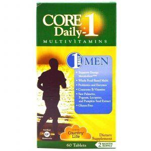 Витамины для мужчин, Country Life, 60 таблет